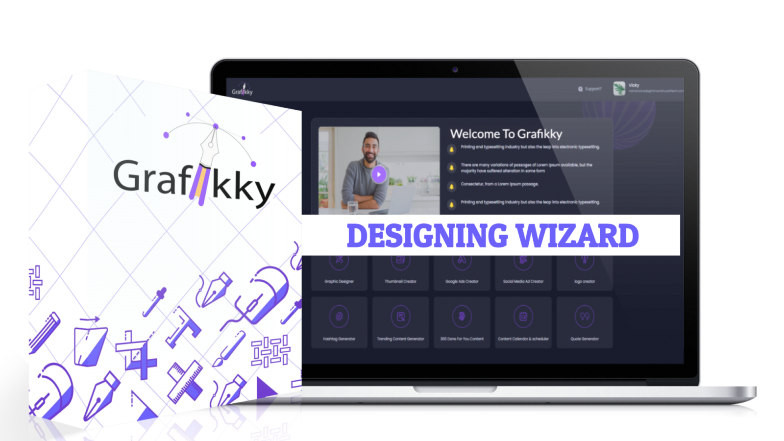 Grafikky Review with 🎁Custom Bonuses🎁 - New 10-in-1 Graphic Designing Suite Which Will Cover All Your Designing Needs!